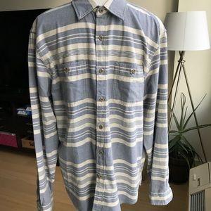 NWT J Crew Carolina Deck Stripe Shirt Size Large